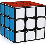 D-FantiX AM-TG126 YJ Guanlong Speed Cube 3x3 Smooth Magic Cube Puzzles 56 mm Black