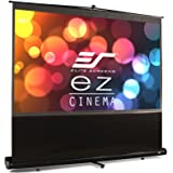 エリートスクリーン プロジェクタースクリーン EZシネマ 100インチ(16:9) マックスホワイト素材 ブラックケース  F100NWH