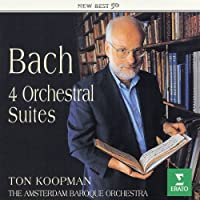 J.S.Bach:4 Orchestra Suites by Koopman & Amsterdam Baroque O (2004-01-21)