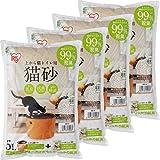 アイリスオーヤマ 上から猫トイレ用砂 猫砂 5L×4袋 UNS-5L