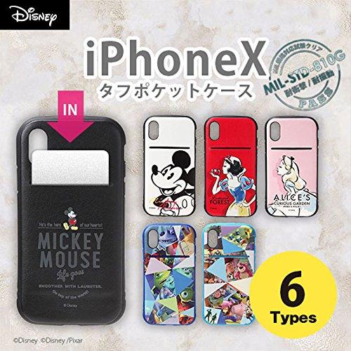 【カラー:ミッキーマウス/ブラック】iPhoneX ディズニ...