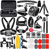 NEEWER 50-In-1 Action Camera Accessory Kit for GoPro 8 GoPro Hero 7 6 5 4 Hero Session 5 Apeman DJI OSMO Action SJ6000 DBPOWER AKASO VicTsing Rollei Lightdow