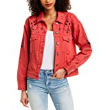 [BLANKNYC] Women's Denim Trucker Outerwear