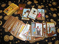 Golden Rider Tarot Deck