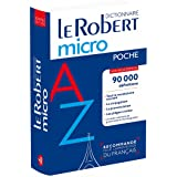 Le Robert Micro Poche 2019: Flexi bound pocket edition of the le Robert Micro dictionary (Le Robert Dictionnaires)