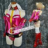 ◆コスプレ衣装◆ガンダムカードビルダー/レイコ ピンク版◆  オーダーサイズ可能 クリスマス、ハロウィン イベント仮装  コスチューム