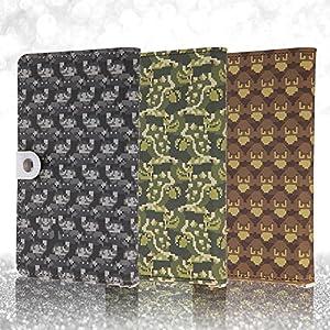 レイ・アウト スマホ 汎用ケース 手帳型 ケース レザーケース スーパーマリオブラザーズ Lサイズ (iPhone6 Plus/AQUOS PHONE ZETA SH-01F/Xperia Z1 SOL23/Xperia Z3 SO-01G) (ICカードポケット×1 付)クリボー RT-NDSPAL/KU