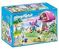 PLAYMOBIL Fairies with Toadstool House Building Kit [並行輸入品]