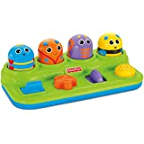 Fisher-Price V2759 Brilliant Basics Boppin' Activity Bugs [Amazon Exclusive] 11.5 x 6.2 x 3.8 inches ; 1.5 pounds