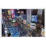 12599タイムズスクエアニューヨークのティンサイン 金属看板 ポスター / Tin Sign Metal Poster of 12599 Times Square New York City
