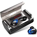 ワイヤレスイヤホン Bluetooth5.1 イヤホン 瞬時接続 スポーツ仕様 CVC8.0ノイズキャンセリング& Siri対応 両耳 左右分離型 マイク内蔵 自動ペアリング ハンズフリー通話 IPX7防水 ブルートゥース イヤホン 技適認証済 iP