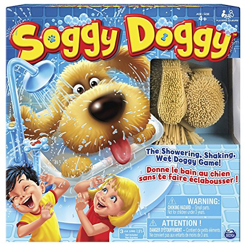Soggy Doggy ボードゲーム アメリカで人気のスリル満点ワンちゃんのお風呂タイムゲーム [並行輸入品]