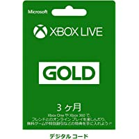 Xbox Live 3ヶ月 ゴールド メンバーシップ デジタルコード|オンラインコード版