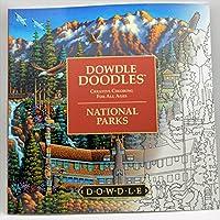 Dowdle Doodles - National Parks Adult Coloring Book by Dowdle Doodles