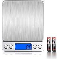 TOKAI キッチンスケール デジタルスケール クッキングスケール 0.1gから3000g電池2本付き 計量秤 皿はかり…