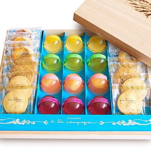 (ア・ラ・カンパーニュ) 焼き菓子 ゼリー 詰め合わせ 26個入り