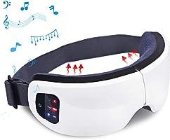 LIKII アイマッサージャー 温度調節 180度二つ折り 音楽機能 USB充電式