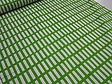 北欧風(アルテック風)カラフル格子 グリーン緑 オックス生地 γ|かわいい |安い|服地| ソーイング