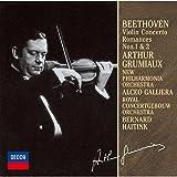 ベートーヴェン:ヴァイオリン協奏曲、ロマンス第1番・第2番