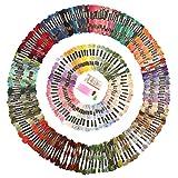 SOLEDI 刺しゅう糸 刺繍糸250色 刺繍セット オリジナルセット