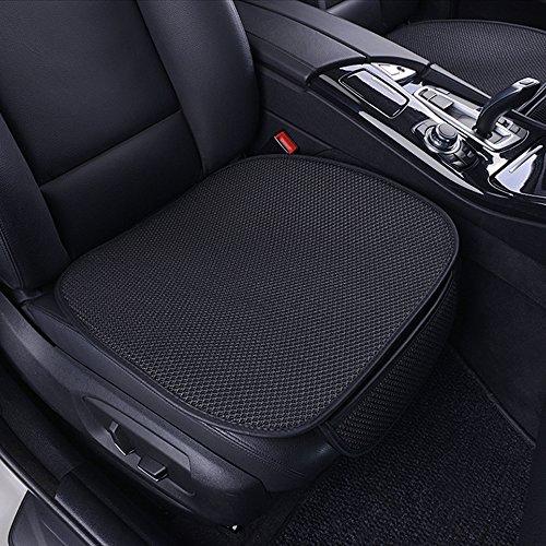 Aoomiya シートクッション 車用 2個セット ポケット付き 3D立体構造 通気 熱発散 ドライブシート ブラック