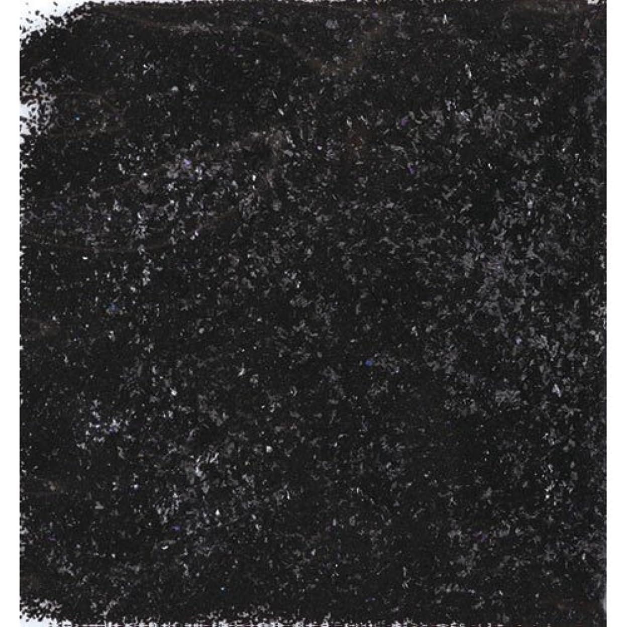 治安判事柱ボトルネックピカエース ネイル用パウダー シャインフレーク #720 黒色 0.3g