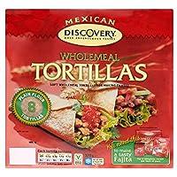 Santa Maria Mexican Wholemeal Tortillas (8 per pack) サンタマリアメキシコの全粒のトルティーヤ(パックあたり8 )