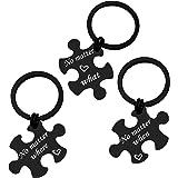 Best Friend Gift Keychain Set of 3 Sister Keychain Gift Friendship Jewelry Long Distance Friendship Gift Keychain for Girls T