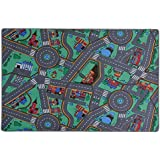 [casa pura]casa pura Children's Play Mat Carpet My Town, 40 x 66 | 4 sizes available 4250953796796 [並行輸入品]