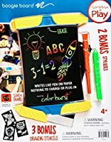 Boogie Board Scribble N' Play ColorBurst with 4 Writing Tools and 3 Drawing Stencils [並行輸入品]