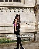 Amazon.co.jpHeyinz(TM)新しいスタイルのファッションホットヒョウスカーフ女性暖かいアニマルプリントヒョウお気に入りのスーパースターのショール