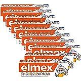 ELMEX 子供の歯磨き粉 Toothpaste Children Kids 0-6 Years Old-50ml(10 Pack) [並行輸入品]