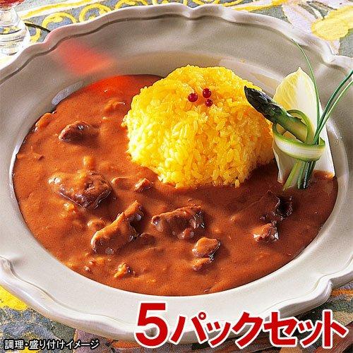 MCC 業務用 ハヤシビーフ 5食セット(200g×5パック)(エムシーシー食品)【レトルト食品】
