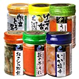 布目 北海道珍味6個セット(瓶詰め120g×6)