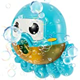 Octopus Bath Toy Bubble Automatic Bubble Maker Blower Machine ,Bubble Machine for Kids Toddlers Boys Girls Baby Bath Toys Ind