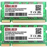 TOPARTS DDR2 4GB(2X2GB) 667MHz PC2-5300 PC2-5400 SO-DIMM ノート パソコン用 増設メモリ