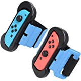Fyoung Wrist Dance Band for Nintendo Switch Joy Cons Controller Game Just Dance 2019, Adjustable Elastic Strap for Joy-Cons,