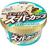 明治 エッセル スーパーカップ 白いチョコミント 200ml x 24個