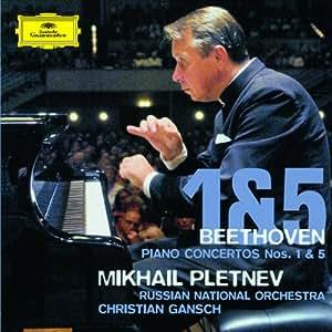 ベートーヴェン:ピアノ協奏曲第1番&第5番
