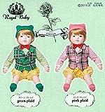 日本製赤ちゃん人形 ロイヤルベビー ニコル キトン ピンクプレエド・05005