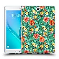オフィシャル Micklyn Le Feuvre クラシック・トロピカルガーデン フローラル Samsung Galaxy Tab A 9.7 専用ソフトジェルケース