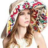 OZ SMART Wide Brim Sun Hat UPF 50 + UV Protection, Women Premium Multiple Styles Bucket Hat with Detachable Brim Extension fo