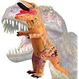 Wild Cheers Inflatable Dinosaur Costume Adult, 2.2m high, Strong Shape, Super Domineering, Inflatable T-Rex Costume Suitable