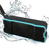 Bluetoothスピーカー高音質ワイヤレススピーカーIPX7防水&防塵認証20時間連続再生内蔵マイクBluetooth4.1ブルートゥース スピーカー アウトドアやお風呂iphone/Android/タブレットなど (ブルー)