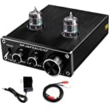 FX AUDIO Home Audio GE5654 Tube Preamp—Upgrade Electronic Hi-Fi Stereo Vacuum Tube Preamplifier with Bass & Treble Control wi