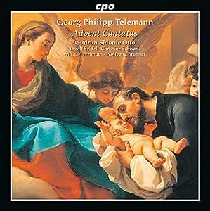 テレマン:アドベントとクリスマスのためのカンタータ集