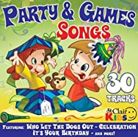 Party & Games Songs by St. Clair Kids