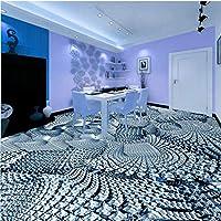 Mbwlkj 3Dステレオフローリングカスタムリビングルームキッチンショッピングモールトイレバスルームの廊下壁紙壁画-300cmx210cm