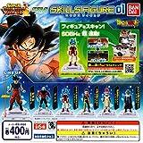 ドラゴンボール超 スーパードラゴンボールヒーローズスキルズフィギュア 01 全6種セット ガチャガチャ