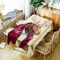 [テンカ]テーブルクロス テーブルカバー 食卓カバー かわいい 北欧 簡約 モダン 芸術 飾り布 150*260cm